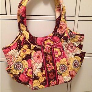 Vera Bradley floral design shoulder bag